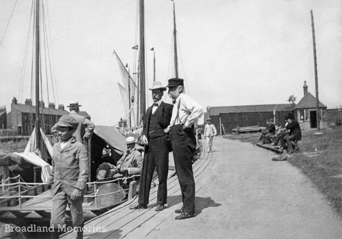 Great Yarmouth yachting station c1900