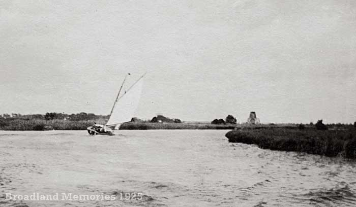 The River Bure at St Benet's Abbey 1925