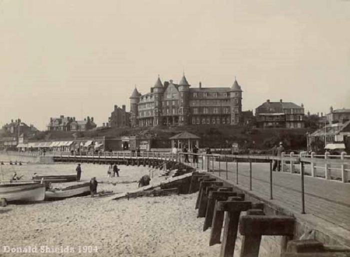 Cliff Hotel Gorleston 1904