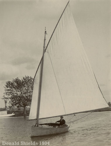 Sailing on the River Yare 1904