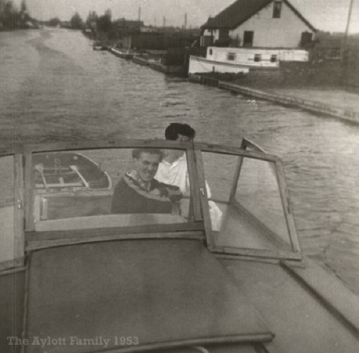 The River Thurne 1953