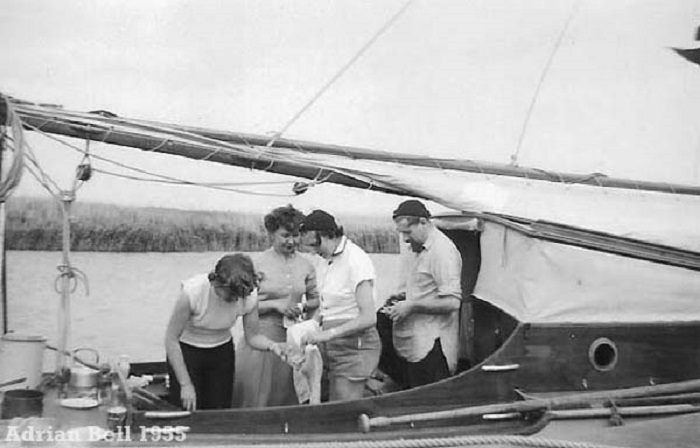 The Norfolk Broads 1955
