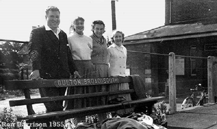 Oulton Broad Railway Station 1955