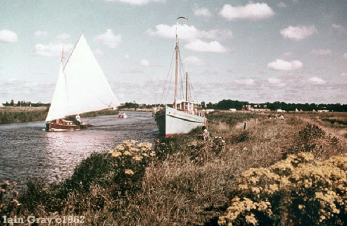 The River Thurne c1962