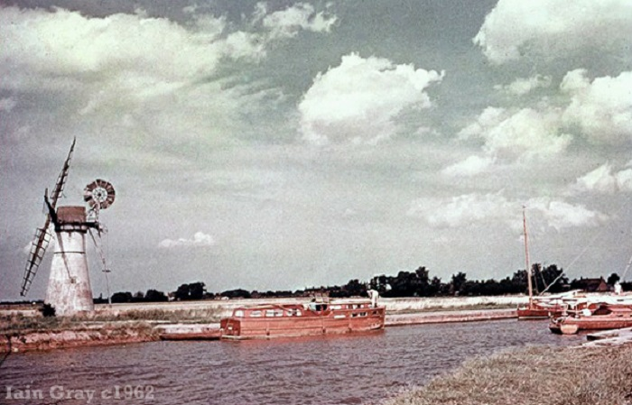 Thurne Dyke Mill c1962