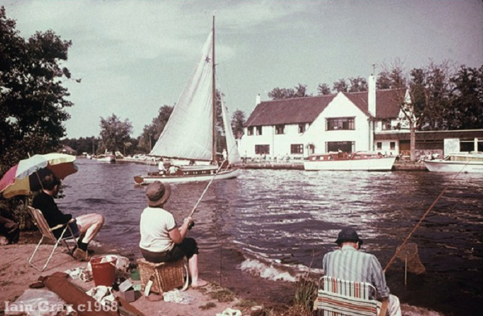 Horning Ferry Inn c1968