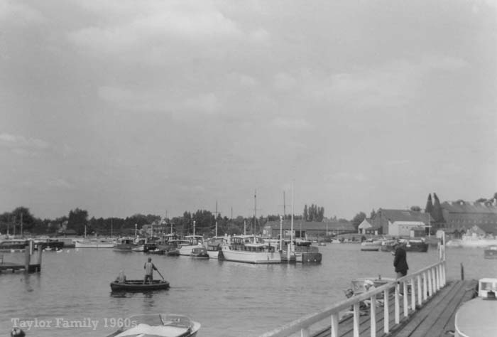 Oulton Broad Yacht Station 1960s