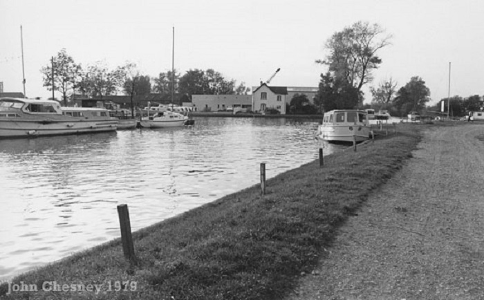 Beccles Yacht Station 1979