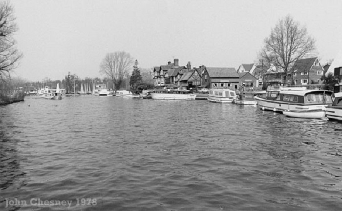The River Bure at Horning 1978