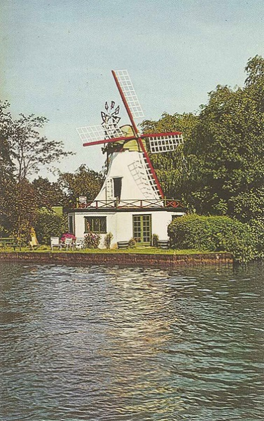 Horning Ferry Mill c1960s