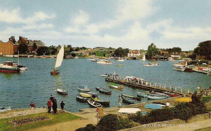 Oulton Broad Free Quay 1960s