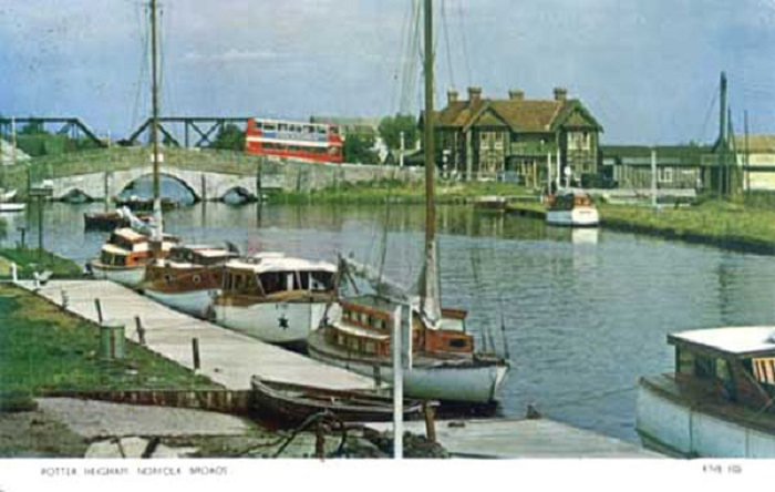 Potter Heigham and the Bridge Hotel 1960s