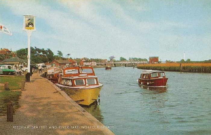 Reedham Quay and the River Yare 1960s