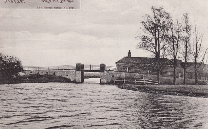 Wayford Bridge c1909