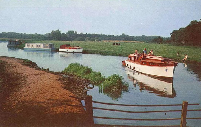 The River Ant above Wayford Bridge 1960s